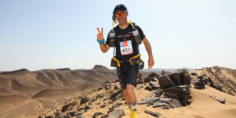 How to run 237 km in the desert without pain.